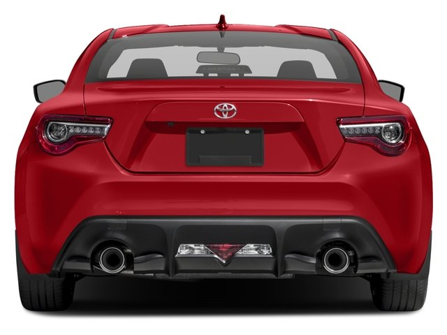 2017 Toyota 86 Prices and Values Coupe 2D 860 Special Edition rear view