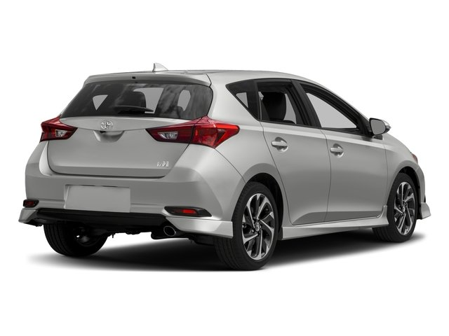 2017 Toyota Corolla iM Prices and Values Hatchback 5D side rear view