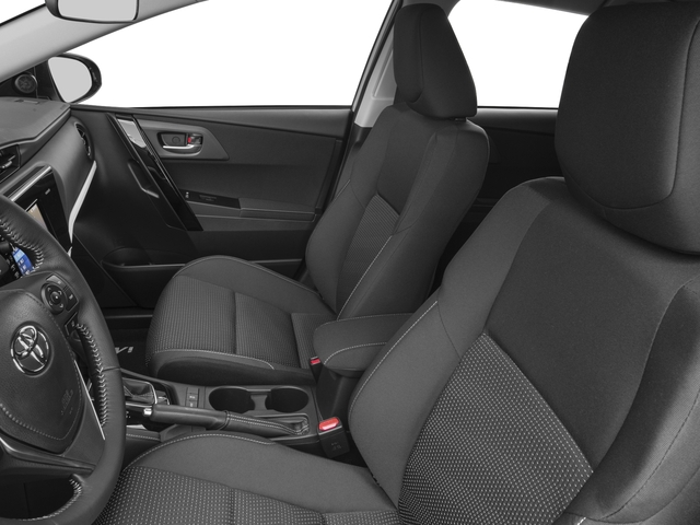 2017 Toyota Corolla iM Prices and Values Hatchback 5D front seat interior