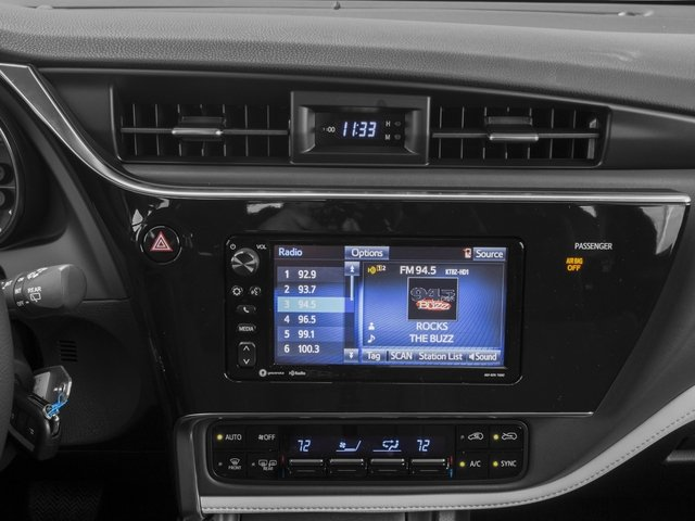2017 Toyota Corolla iM Prices and Values Hatchback 5D stereo system