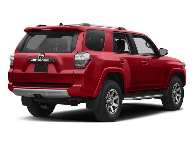 2017 Toyota 4Runner Pictures 4Runner Utility 4D TRD Off-Road 4WD V6 photos side rear view