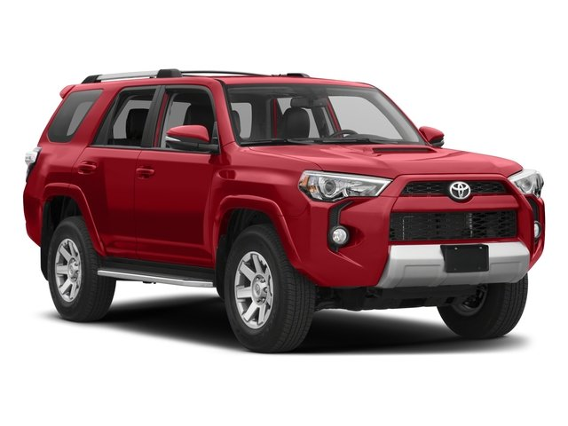 2017 Toyota 4Runner Pictures 4Runner Utility 4D TRD Off-Road 4WD V6 photos side front view