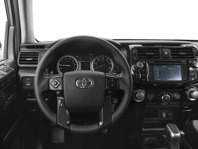 2017 Toyota 4Runner Prices and Values Utility 4D TRD Pro 4WD V6 driver's dashboard
