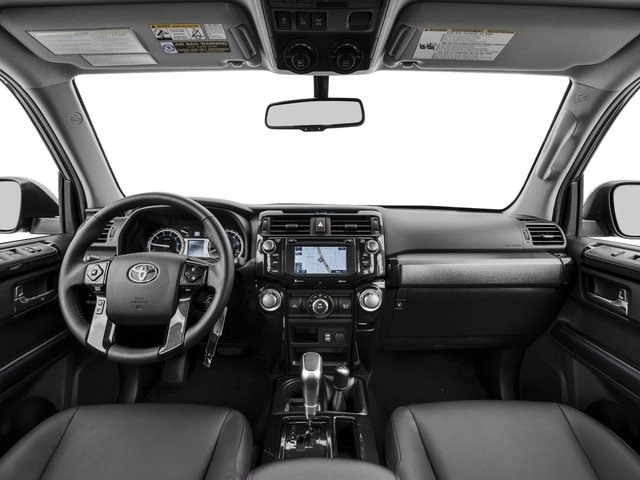 2017 Toyota 4Runner Prices and Values Utility 4D TRD Pro 4WD V6 full dashboard