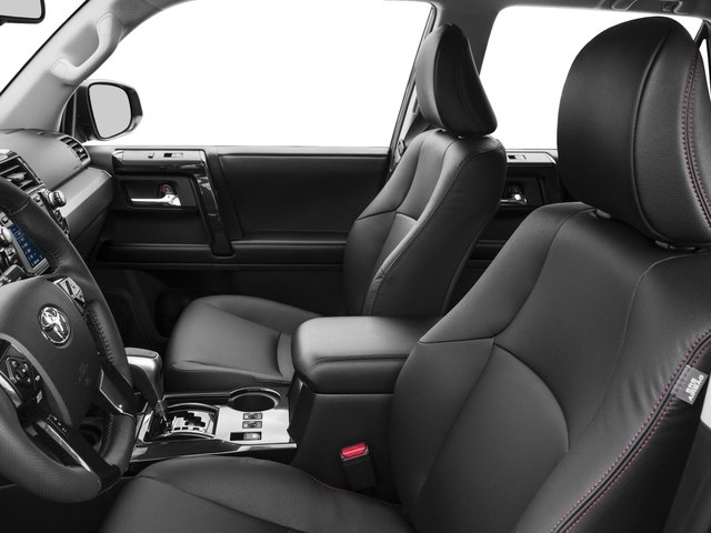 2017 Toyota 4Runner Prices and Values Utility 4D TRD Pro 4WD V6 front seat interior