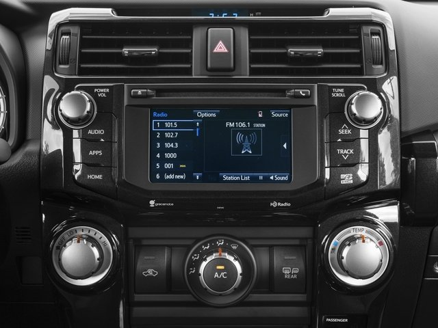 2017 Toyota 4Runner Prices and Values Utility 4D TRD Pro 4WD V6 stereo system