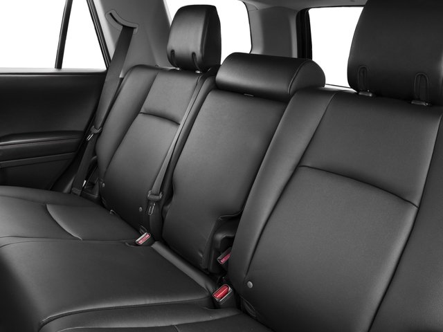 2017 Toyota 4Runner Prices and Values Utility 4D TRD Pro 4WD V6 backseat interior