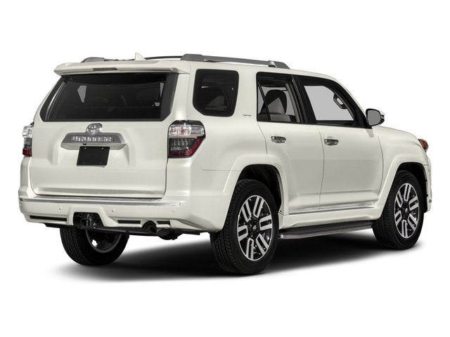 2017 Toyota 4Runner Prices and Values Utility 4D Limited 2WD V6 side rear view