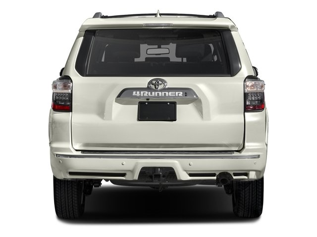 2017 Toyota 4Runner Prices and Values Utility 4D Limited 2WD V6 rear view