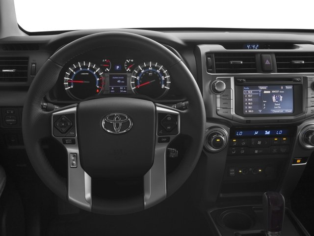 2017 Toyota 4Runner Prices and Values Utility 4D Limited 2WD V6 driver's dashboard