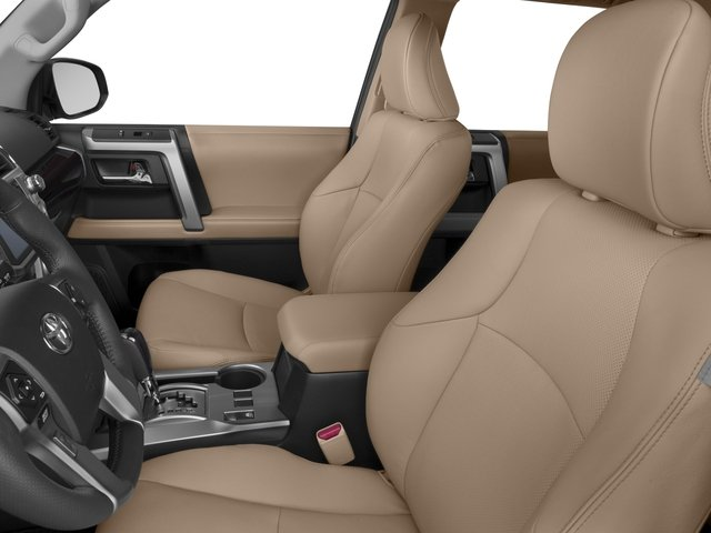 2017 Toyota 4Runner Prices and Values Utility 4D Limited 2WD V6 front seat interior