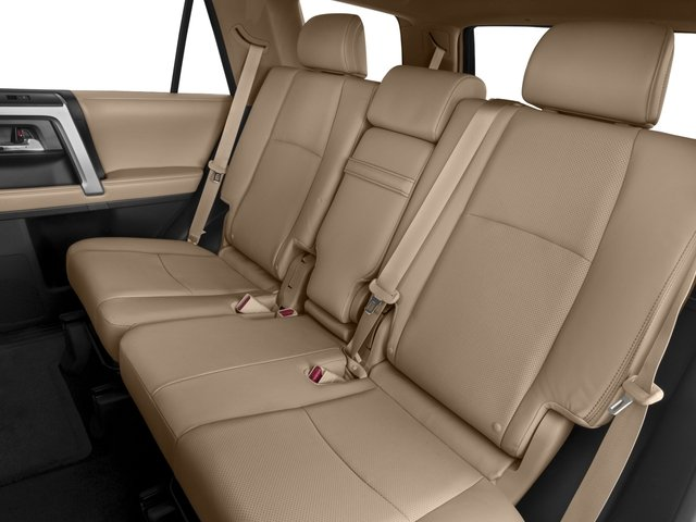 2017 Toyota 4Runner Prices and Values Utility 4D Limited 2WD V6 backseat interior