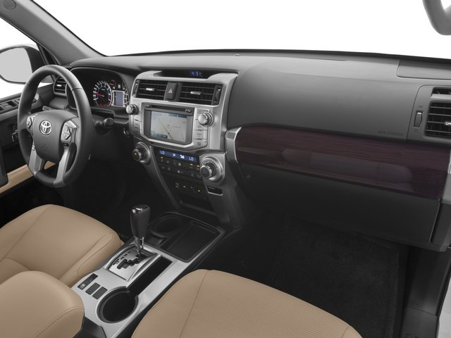 2017 Toyota 4Runner Prices and Values Utility 4D Limited 2WD V6 passenger's dashboard