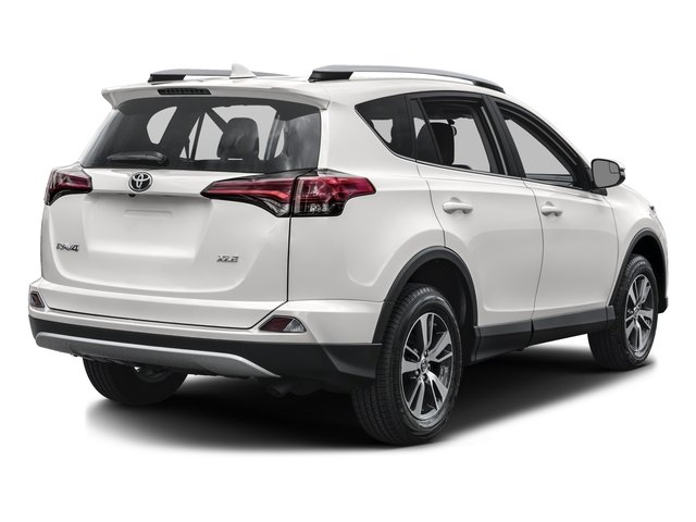 2017 Toyota Rav4 Base Price Xle Fwd Pricing Side Rear View
