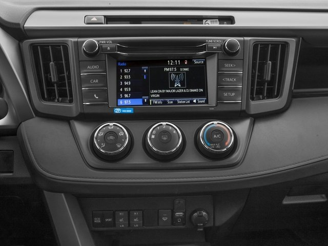 2017 Toyota Rav4 Pictures Le Awd Photos Stereo System