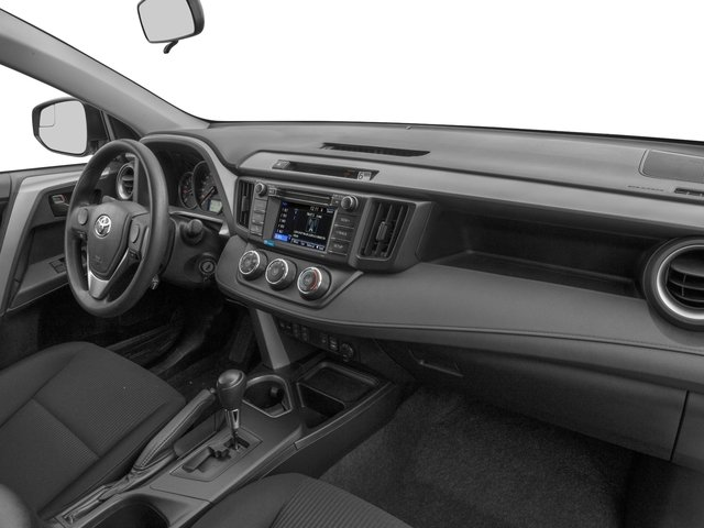 2017 Toyota Rav4 Pictures Le Awd Photos Penger S Dashboard
