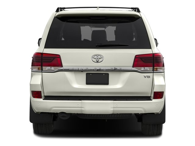 2017 Toyota Land Cruiser Prices and Values Utility 4D 4WD V8 rear view