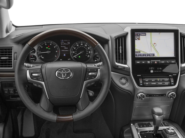 2017 Toyota Land Cruiser Prices and Values Utility 4D 4WD V8 driver's dashboard