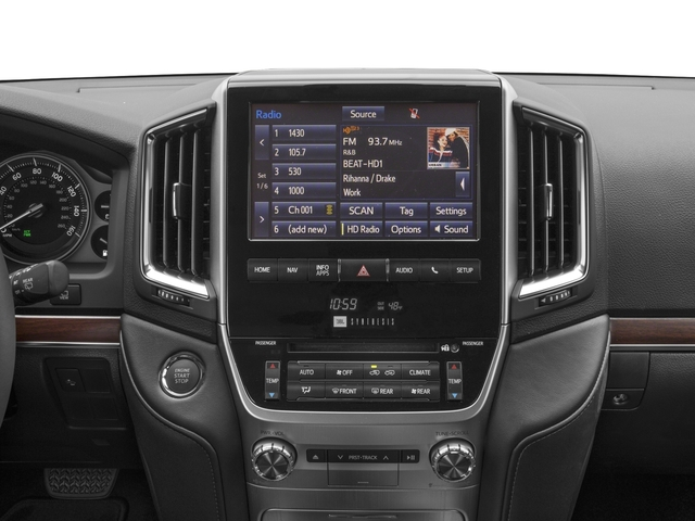 2017 Toyota Land Cruiser Prices and Values Utility 4D 4WD V8 stereo system