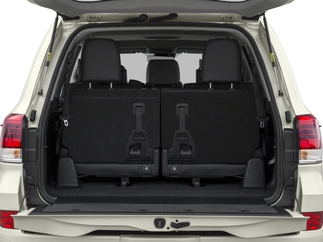 2017 Toyota Land Cruiser Prices and Values Utility 4D 4WD V8 open trunk