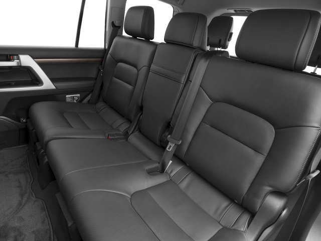 2017 Toyota Land Cruiser Prices and Values Utility 4D 4WD V8 backseat interior