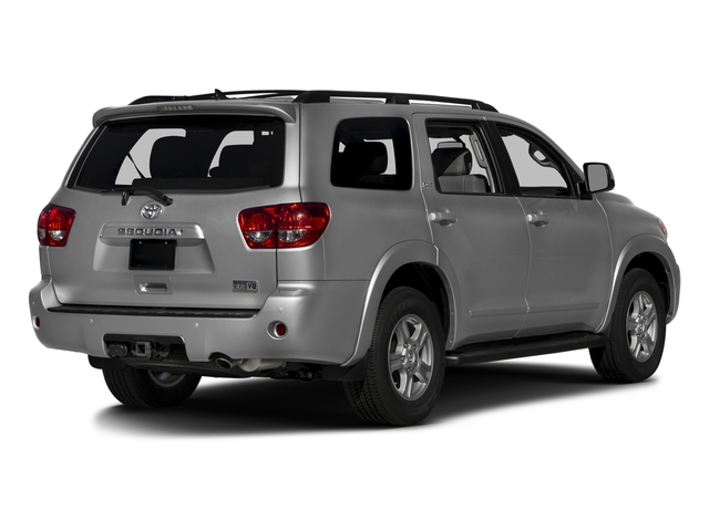 2017 Toyota Sequoia Prices and Values Utility 4D SR5 2WD V8 side rear view
