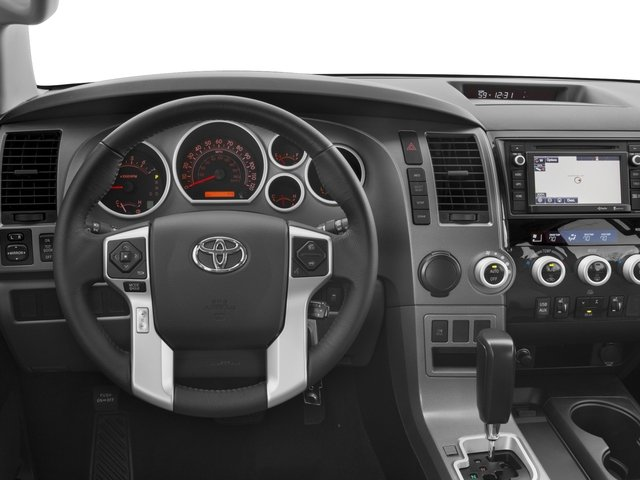 2017 Toyota Sequoia Prices and Values Utility 4D SR5 2WD V8 driver's dashboard