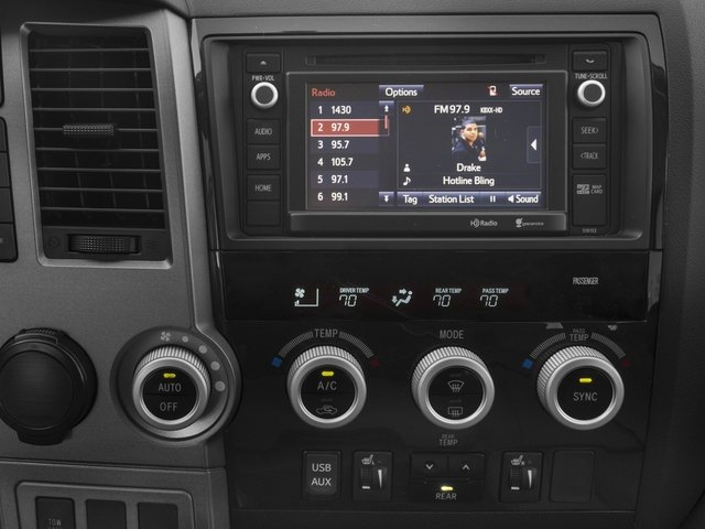 2017 Toyota Sequoia Prices and Values Utility 4D SR5 2WD V8 stereo system