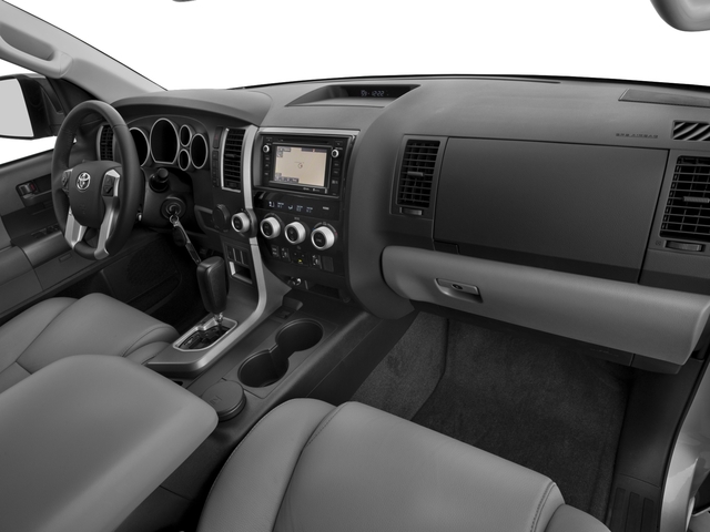 2017 Toyota Sequoia Prices and Values Utility 4D SR5 2WD V8 passenger's dashboard