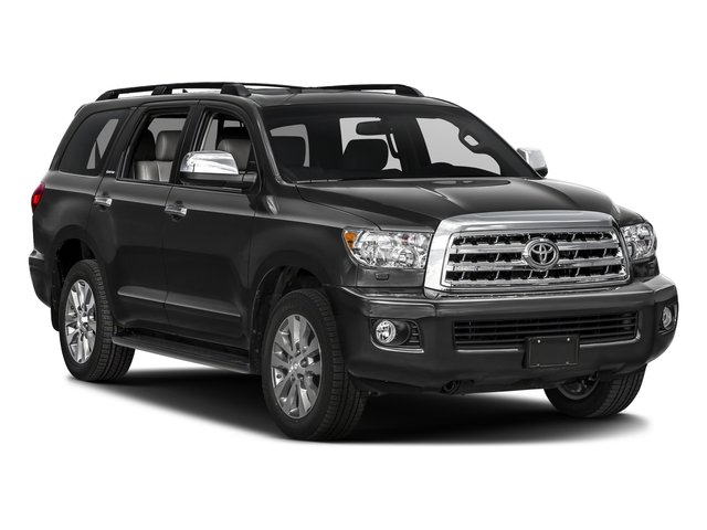 2017 Toyota Sequoia Pictures Sequoia Utility 4D Limited 2WD V8 photos side front view