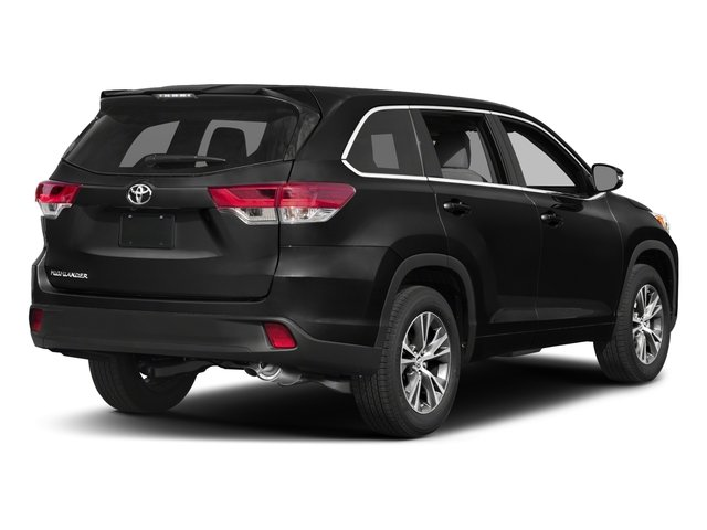 2017 Toyota Highlander Prices and Values Utility 4D LE Plus 2WD V6 side rear view
