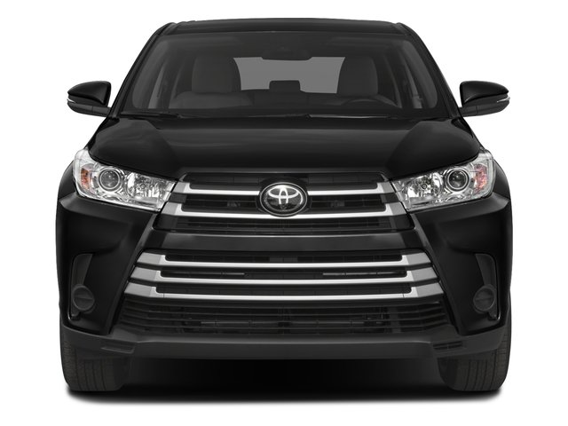 2017 Toyota Highlander Prices and Values Utility 4D LE Plus 2WD V6 front view