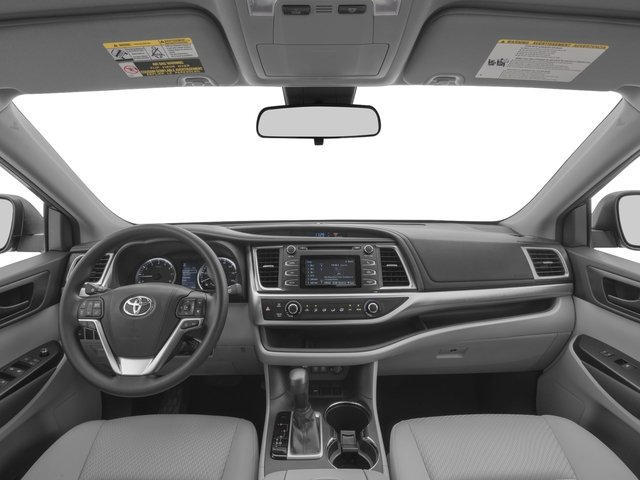 2017 Toyota Highlander Prices and Values Utility 4D LE Plus 2WD V6 full dashboard
