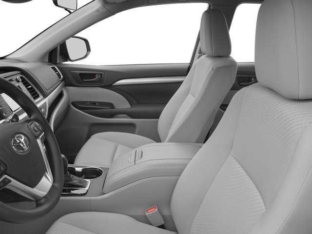 2017 Toyota Highlander Prices and Values Utility 4D LE Plus 2WD V6 front seat interior