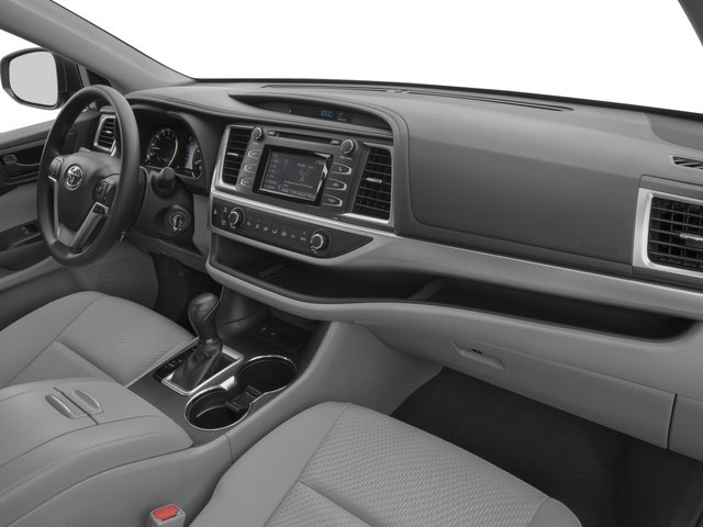 2017 Toyota Highlander Prices and Values Utility 4D LE Plus 2WD V6 passenger's dashboard