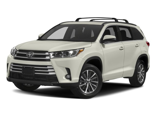 2017 Toyota Highlander Base Price Xle V6 Awd Pricing Side Front View