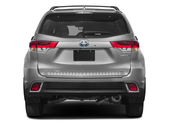 2017 Toyota Highlander Prices and Values Utility 4D Limited 4WD V6 Hybrid rear view