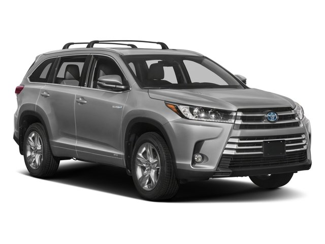 2017 Toyota Highlander Prices and Values Utility 4D Limited 4WD V6 Hybrid side front view