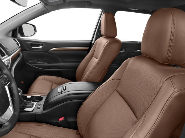 2017 Toyota Highlander Prices and Values Utility 4D Limited 4WD V6 Hybrid front seat interior