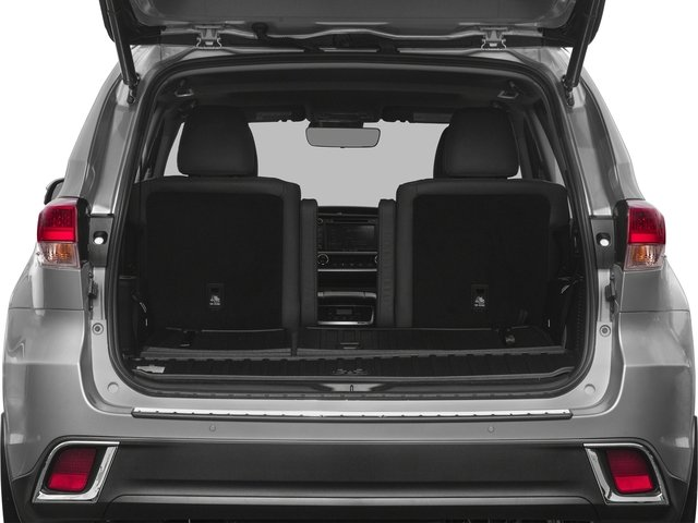 2017 Toyota Highlander Prices and Values Utility 4D Limited 4WD V6 Hybrid open trunk