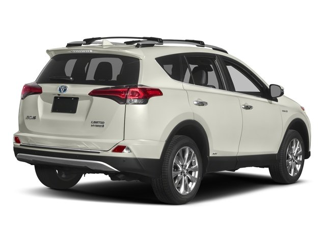 2017 Toyota Rav4 Hybrid Pictures Limited Awd Photos Side Rear View
