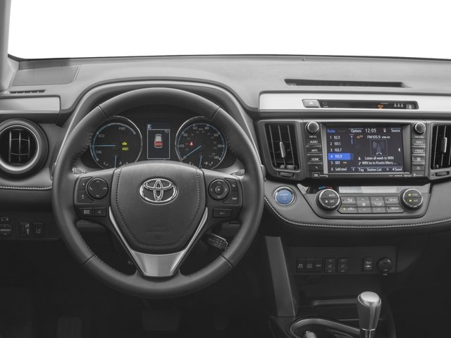 2017 Toyota Rav4 Hybrid Pictures Limited Awd Photos Driver S Dashboard