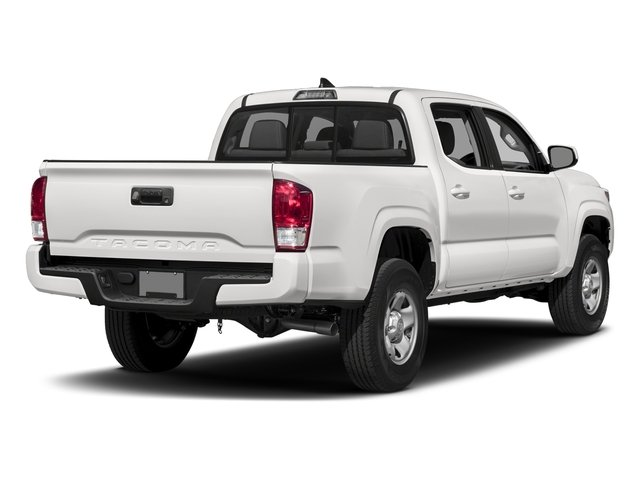 2017 Toyota Tacoma Prices and Values SR Crew Cab 2WD I4 side rear view