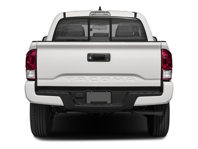 2017 Toyota Tacoma Prices and Values SR Crew Cab 2WD I4 rear view