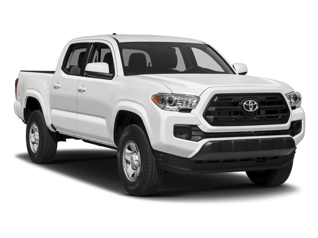 2017 Toyota Tacoma Prices and Values SR Crew Cab 2WD I4 side front view