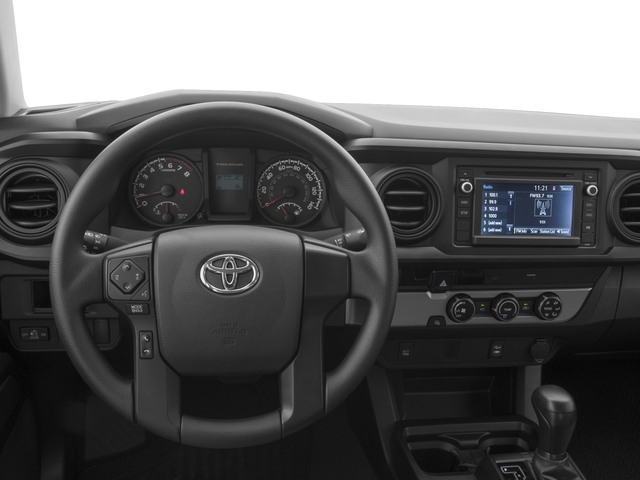 2017 Toyota Tacoma Prices and Values SR Crew Cab 2WD I4 driver's dashboard