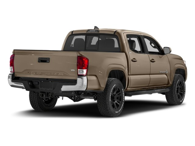 2017 Toyota Tacoma Prices and Values SR5 Crew Cab 4WD V6 side rear view