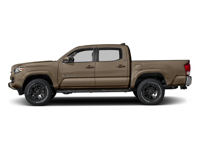2017 Toyota Tacoma Prices and Values SR5 Crew Cab 4WD V6 side view