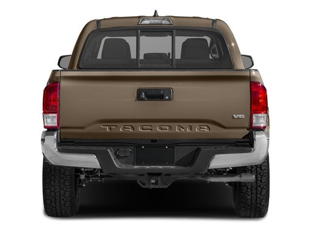 2017 Toyota Tacoma Prices and Values SR5 Crew Cab 4WD V6 rear view