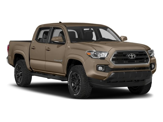 2017 Toyota Tacoma Prices and Values SR5 Crew Cab 4WD V6 side front view